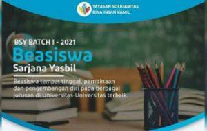 Beasiswa Sarjana Yasbil